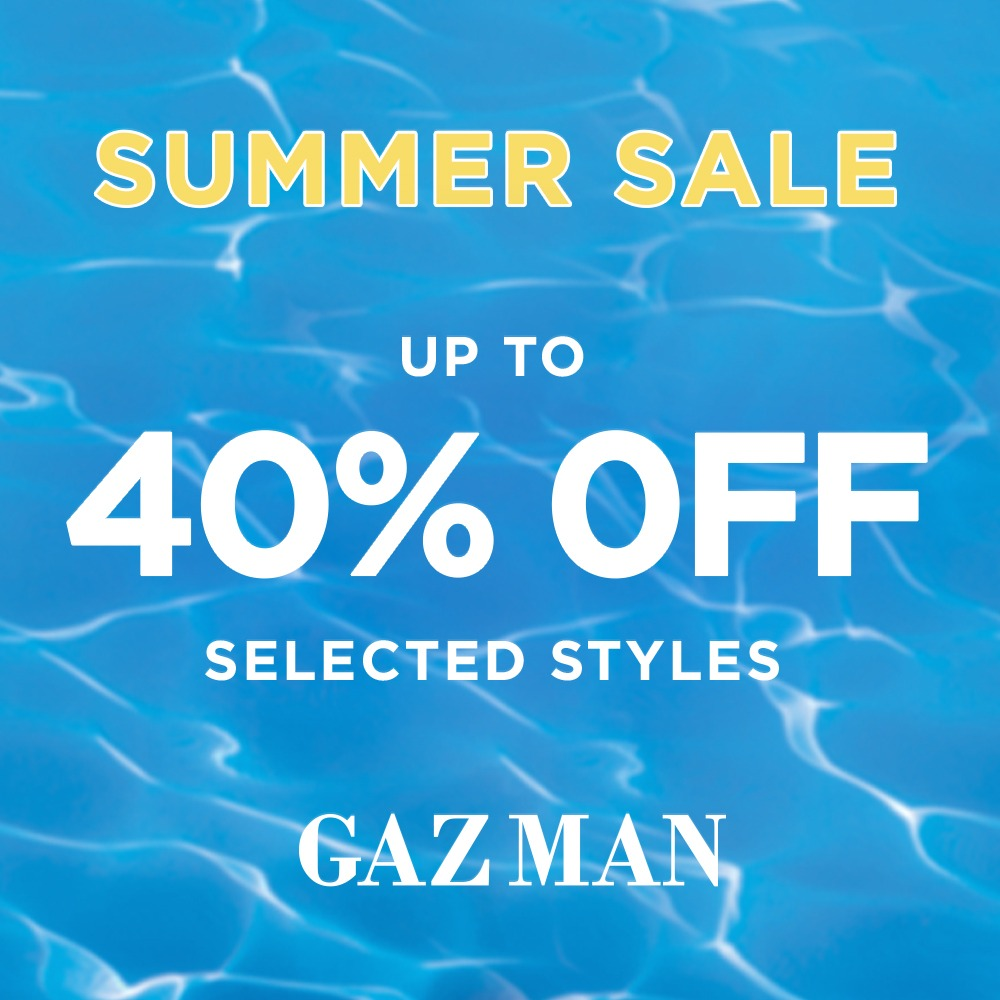 Gazman Summer Sale 2 1 20 to 19 1 20 1000x1000